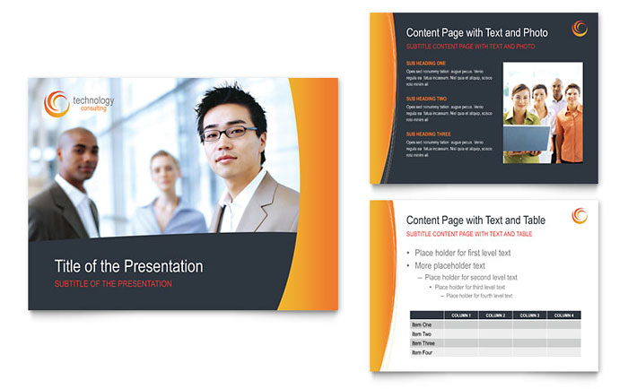 Free PowerPoint Presentation Template - Business Presentation Example