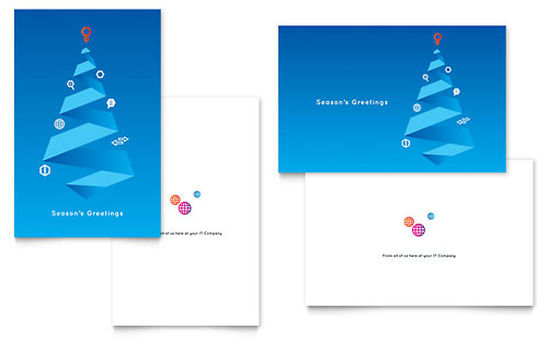 Free Greeting Card Design Template