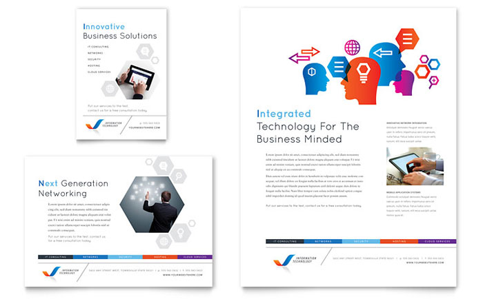 Free leaflet templates download ready made leaflet designs for Free catalog templates for publisher