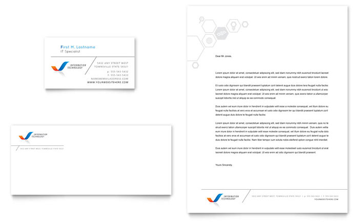 Free Letterhead Template   Download Letterhead Design  Free Word Letterhead Template