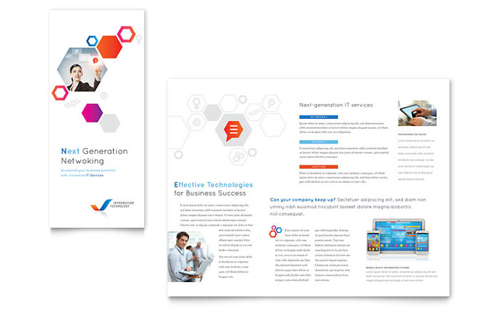 Free TriFold Brochure Templates Download Free Brochure Designs - Fold brochure template