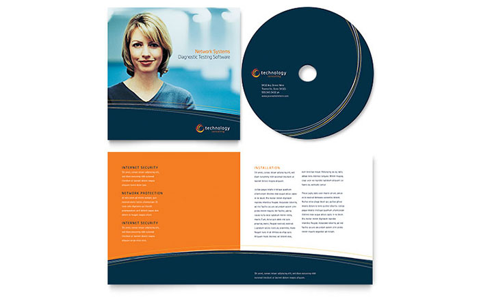 free-sample-CD-Booklet-template-S Sample Business Newsletter Templates on