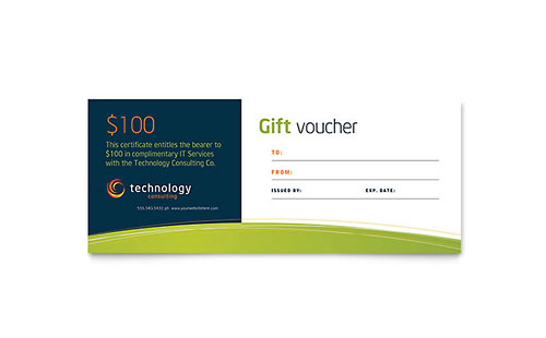 Free Gift Certificate Template Sample
