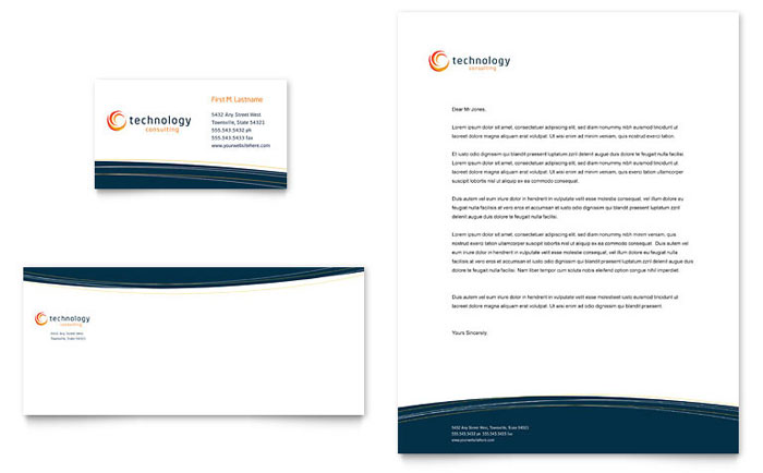 Free Letterhead Template Indesign Ilrator Word Publisher Pages