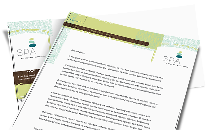make a letterhead design easily customize letterhead templates