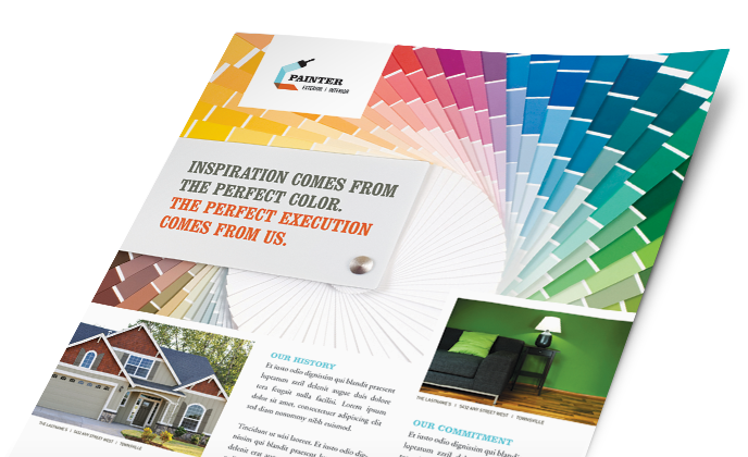 Make a Sales Sheet, Create Sales Sheets, Sales Sheet Design