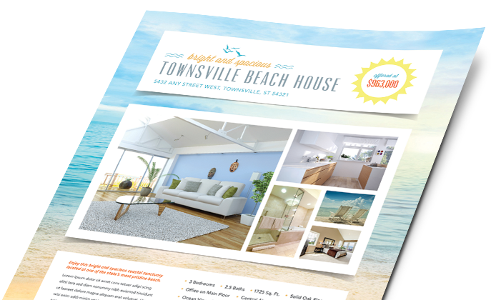 Real Estate Marketing Materials, Real Estate Graphic Designs