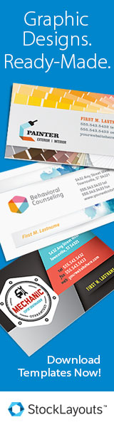 StockLayouts Graphic Design Templates