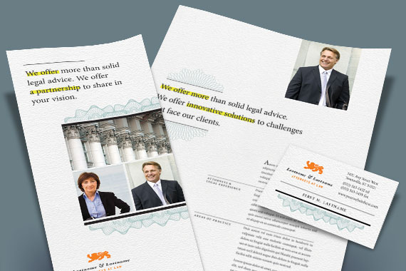 Attorney Marketing Collateral Examples