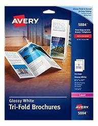 Avery Brochure Paper 5884