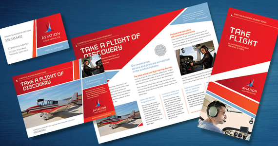 Business Marketing Templates – Aviation Flight Instructor