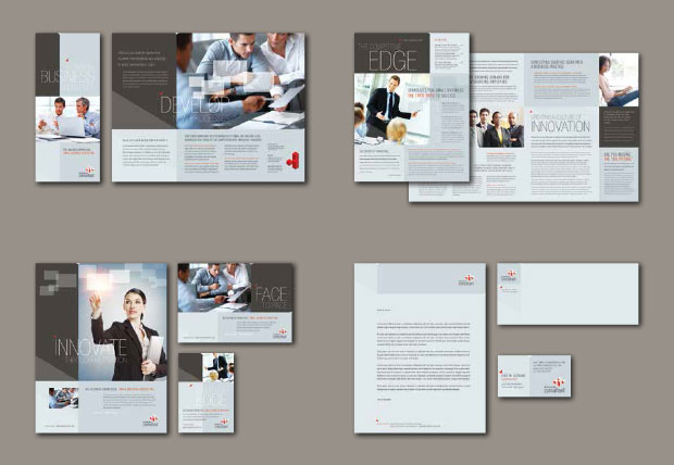 Brand Identity Design Templates - Consulting Business