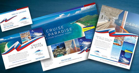Business Marketing Templates – Cruise Travel