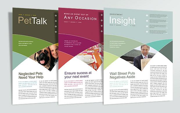 Customizable Newsletter Templates