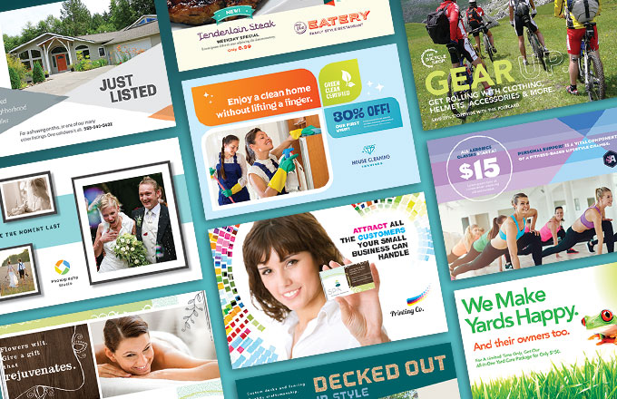 Direct Mail Postcard Design Ideas from StockLayouts