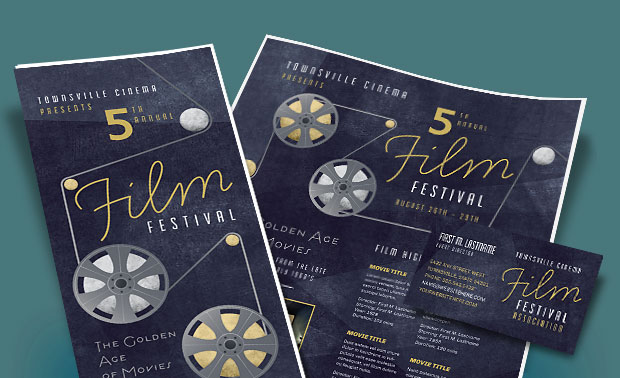 Film Festival Marketing Materials - Posters, Brochures