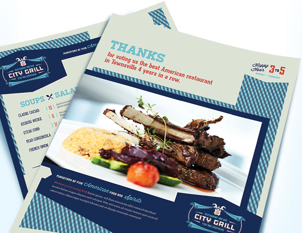 Fine Dining Restaurant - Identity Design and Business Marketing Templates