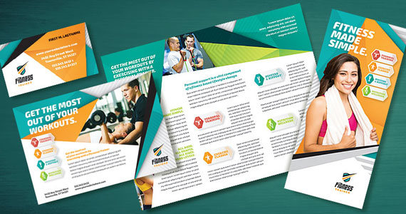 Business Marketing Templates – Fitness Trainer