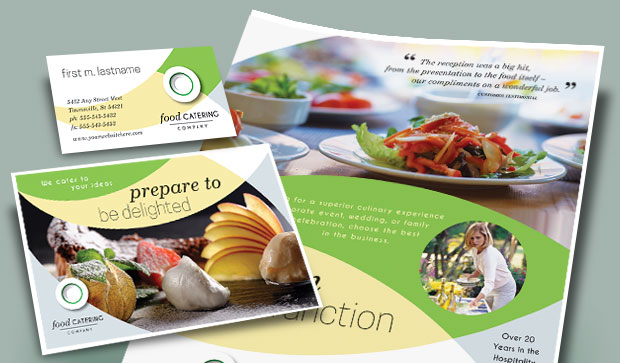 Food Catering - Business Marketing Materials