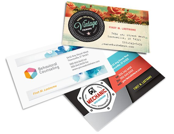 Graphic Design Examples of Business Cards