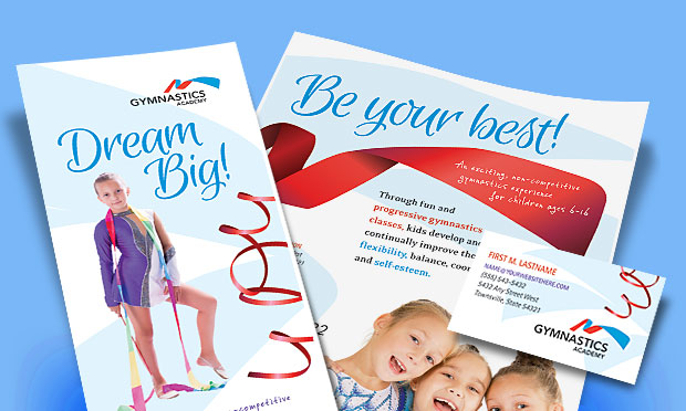 Gymnastics Academy - Marketing Materials