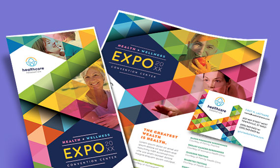 Health Fair Marketing Materials - Flyers & Brochures