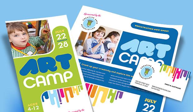 Kids Art Classes - Graphic Design Sample