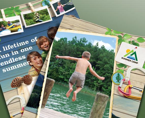 Kid's Summer Camp – Design Templates