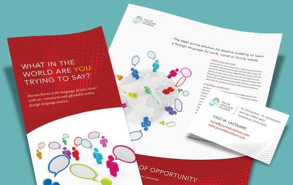 Language Arts - Marketing Materials - Graphic Designs