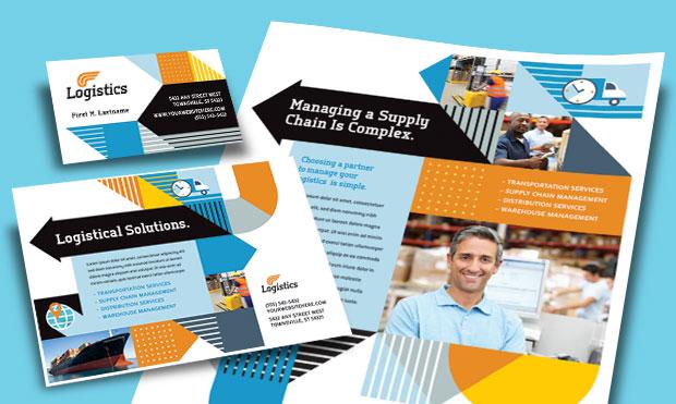 Logistics Management - Business Marketing Materials