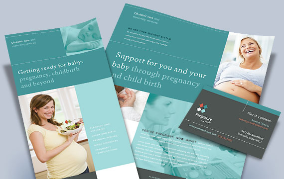 Pregnancy Clinic - Marketing Materials