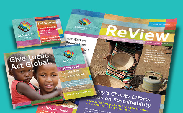 Marketing Materials for Nonprofit - Humanitarian Aid Organization