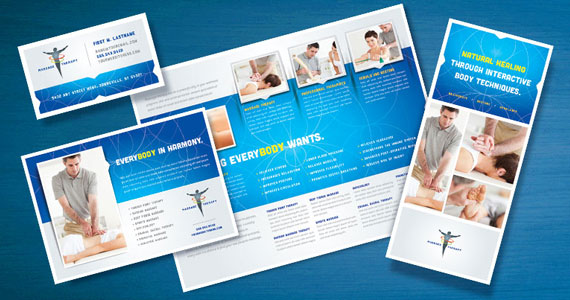 Massage Therapy Brochures, Flyers, Newsletters