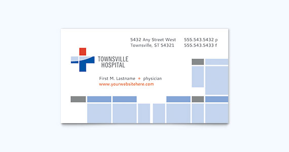 Medical Business Card Design Idea