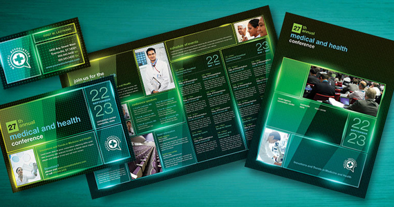 Business Marketing Templates – Medical Conference