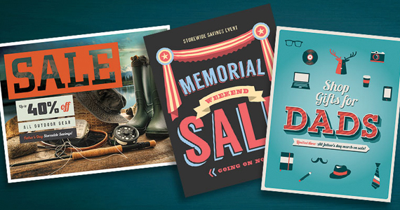 Sale Poster Marketing Templates