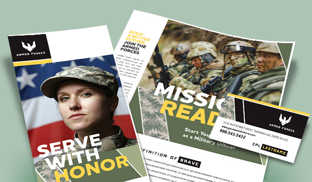 Military Marketing Materials - Recruiting & Events