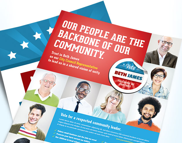 Political Candidate Campaign Advertising Ideas & Marketing Materials