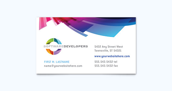 Professional Business Card Design Idea