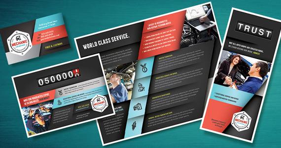 Business Marketing Templates – Auto Mechanic