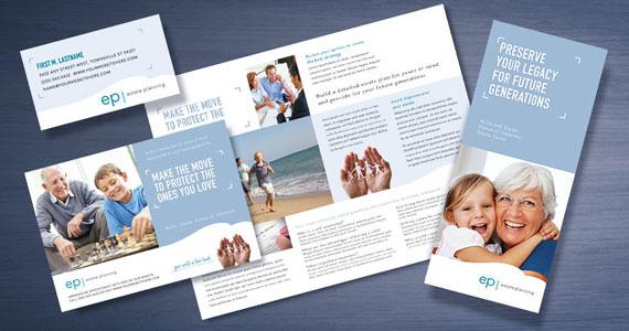 Estate Planning Brochures, Flyers, Datasheets