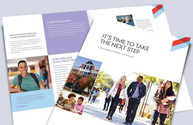 Tabloid-Size Brochure Templates - Brochure Cover Design Ideas
