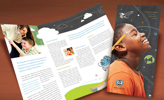 Business Tri-Fold Brochure Designs