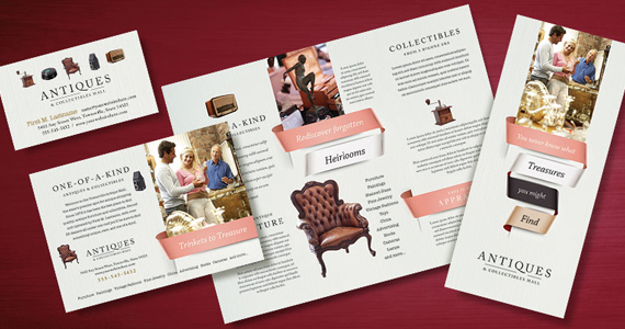 Business Marketing Templates – Antique Mall