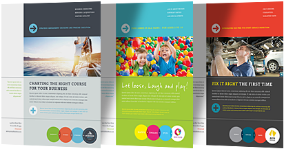 Color Themes of Brochure Design