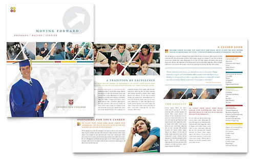 Education & Training Pamphlets | Templates & Designs