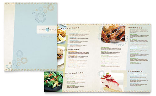 Coffee Shop  Cafe  Menu Templates  Food  Beverage