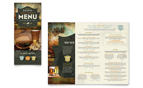 Brewery & Brew Pub Take-out Brochure