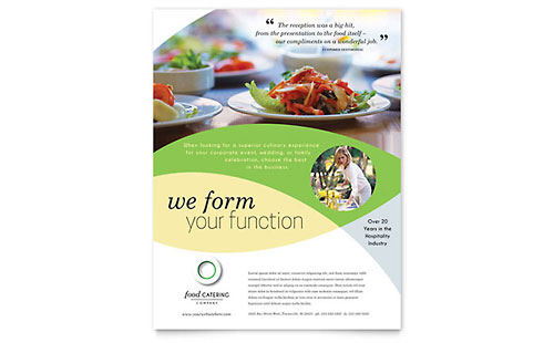 Food Catering Flyer