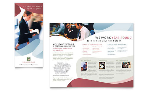 Tri fold brochure designs business tri fold brochure for It services brochure template